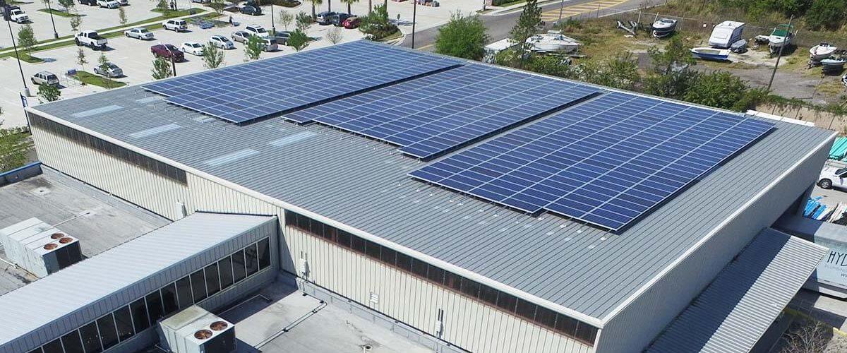 hydrologic rooftop solar installation agt